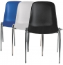 Chaises coques empilables
