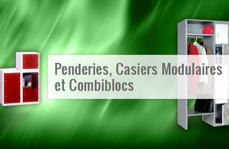 Penderies, Casiers Modulaires et Combiblocs