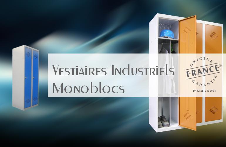 Vestiaires industriels monoblocs