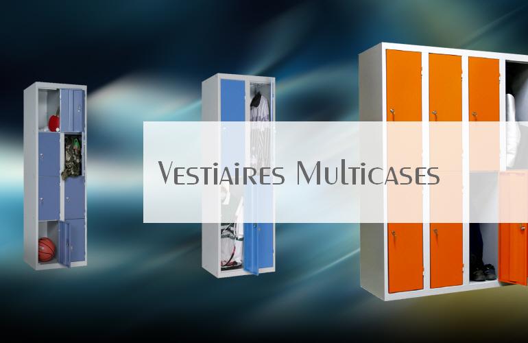 Vestiaires et meubles industriels multicases casier de for Vestiaires industriels